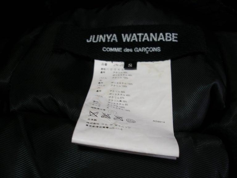 Collectible Piéce Junya Watanabe Comme des Garçons Fake Fur Cape Boléro M Size For Sale 1