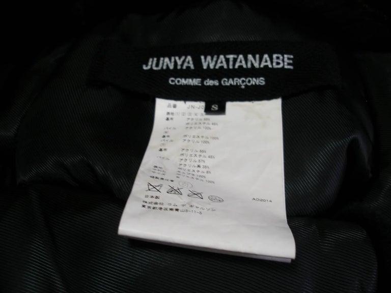 Collectible Piéce Junya Watanabe Comme des Garçons Fake Fur Cape Boléro M Size For Sale 5