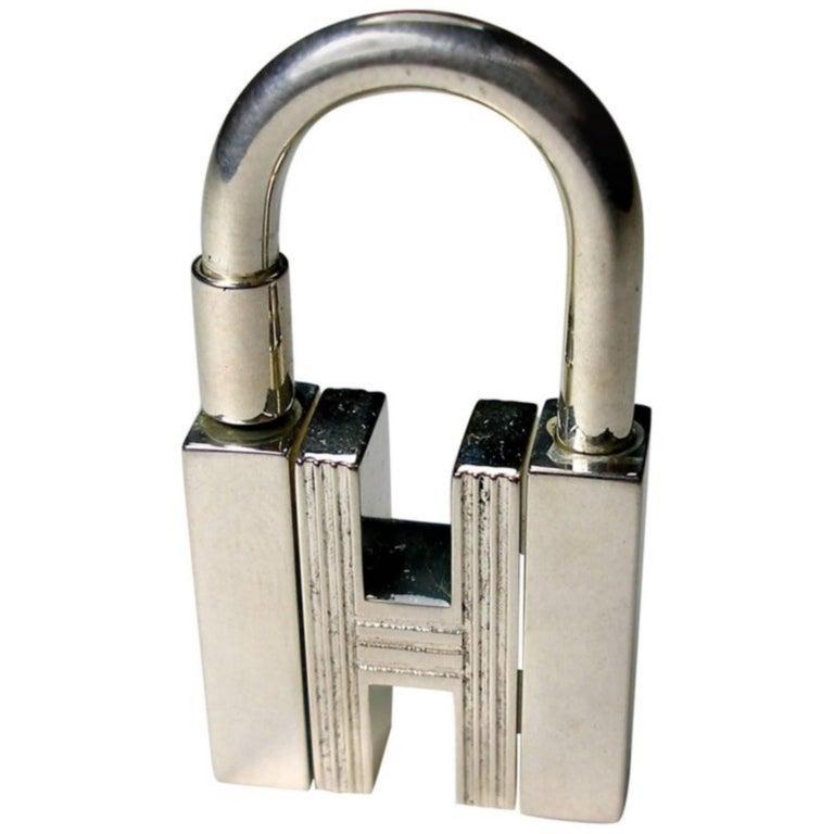 Hermès CADENAS KEY RING or CHARM BAG H rotatif / GOOD CONDITION