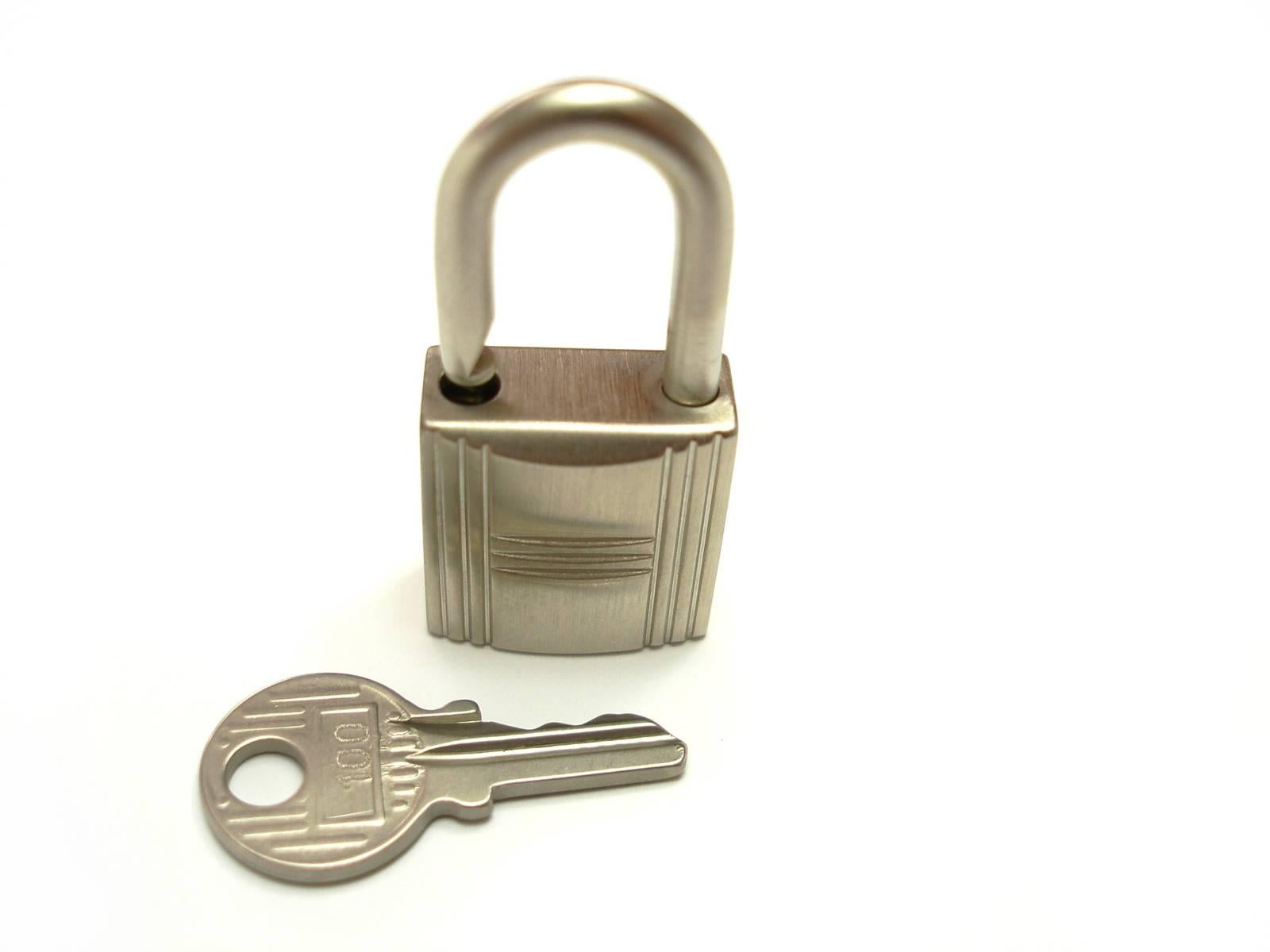 ... order hermès cadenas lock 2 keys for birkin or kelly bag brush finish  brand new 3b023 81b791a3a1c0a
