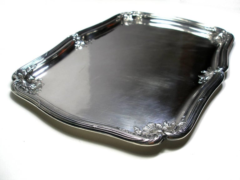 ANTIQUE French Silver Plated GALLIA by christofle Plateau Service Circa 1900 For Sale 2