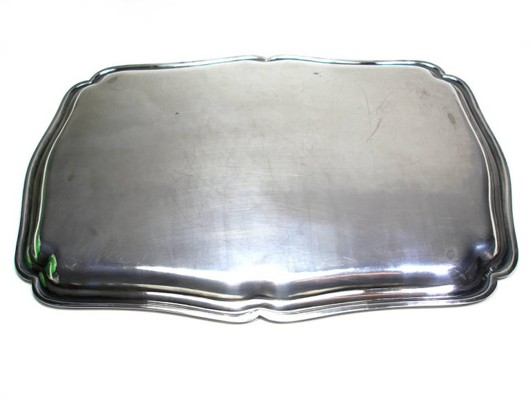 ANTIQUE French Silver Plated GALLIA by christofle Plateau Service Circa 1900 For Sale 3