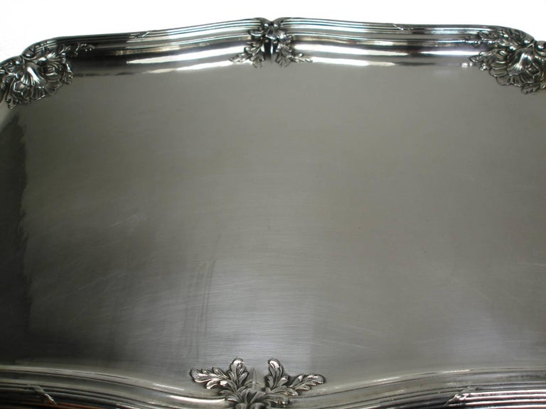 ANTIQUE French Silver Plated GALLIA by christofle Plateau Service Circa 1900 For Sale 11