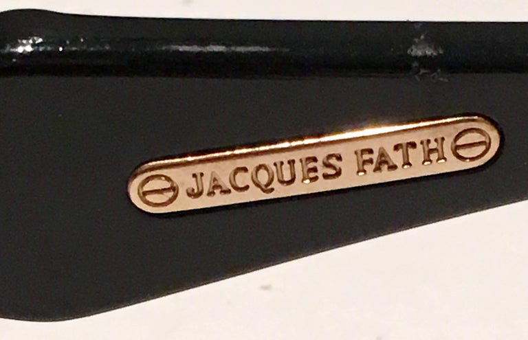 1980'S French Jacques Faith Sunglasses For Sale 4