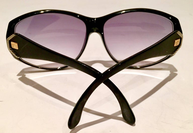 1980'S French Jacques Faith Sunglasses In Excellent Condition For Sale In West Palm Beach, FL