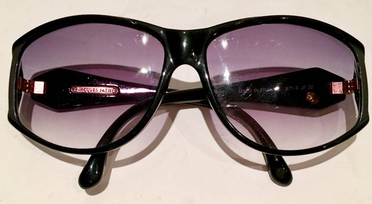 Gray 1980'S French Jacques Faith Sunglasses For Sale