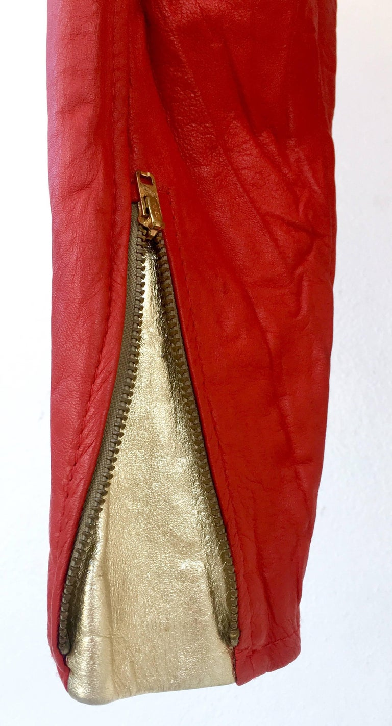 red handbag clutch stud patent valencia
