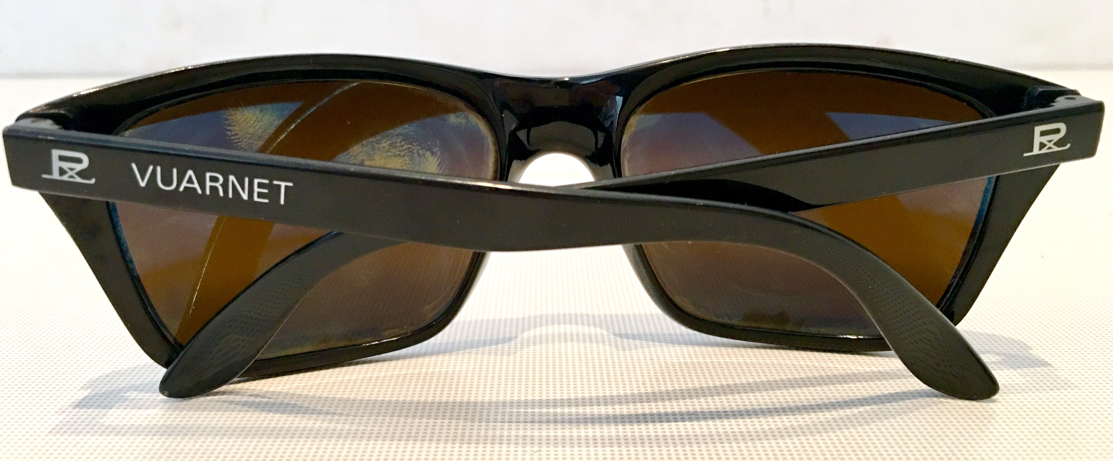53f152547f 80 S Vuarnet France Black and Brown Mineral Poloarized Sunglasses For Sale  at 1stdibs