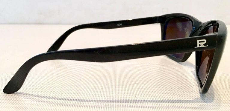 991fbcf05929 Women's or Men's 80'S Vuarnet France Black & Brown Mineral Poloarized  Sunglasses