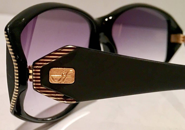 Women's or Men's 1980'S French Jacques Faith Sunglasses For Sale