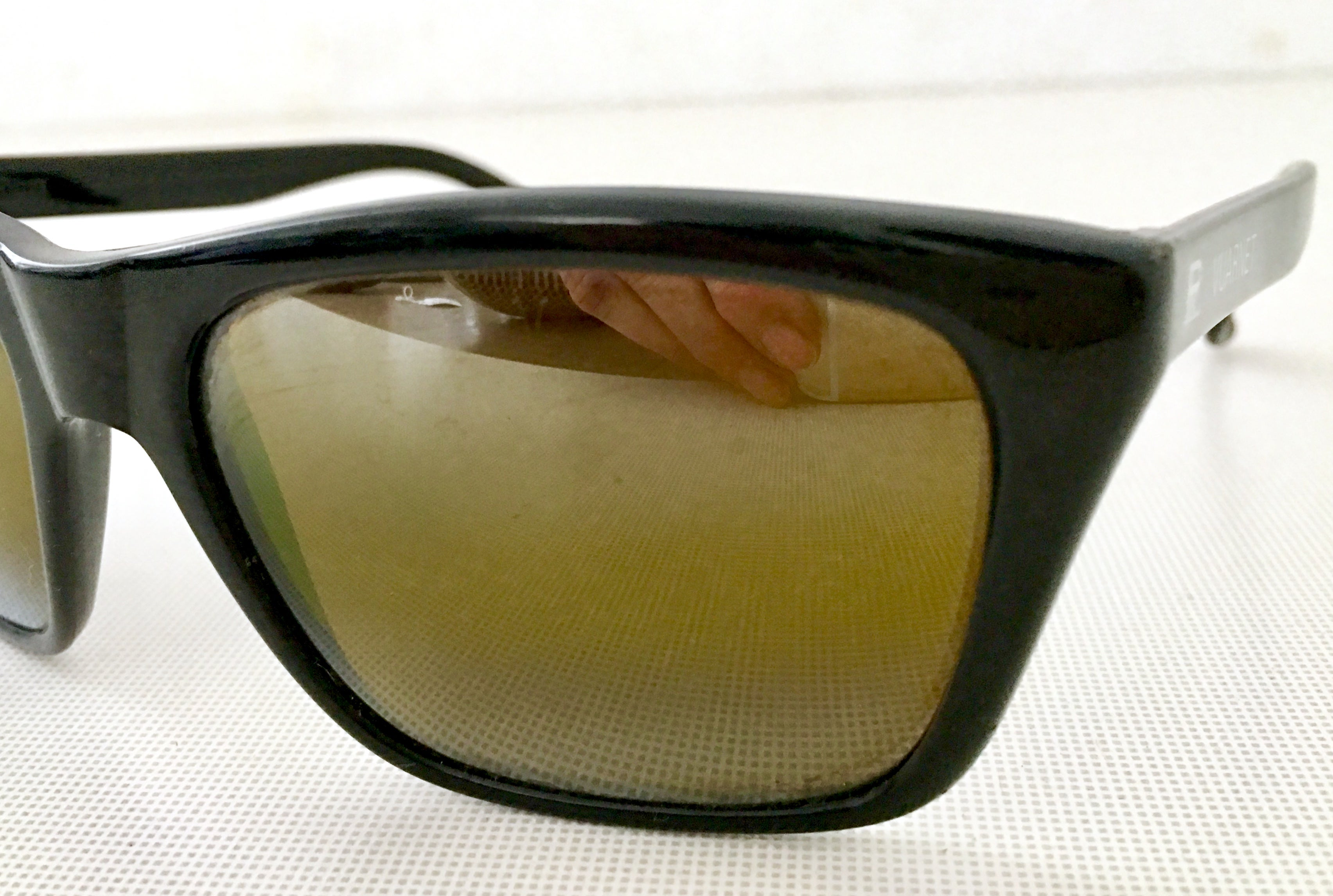 42a16c2f6e86 80'S Vuarnet France Black and Brown Mineral Poloarized Sunglasses at 1stdibs