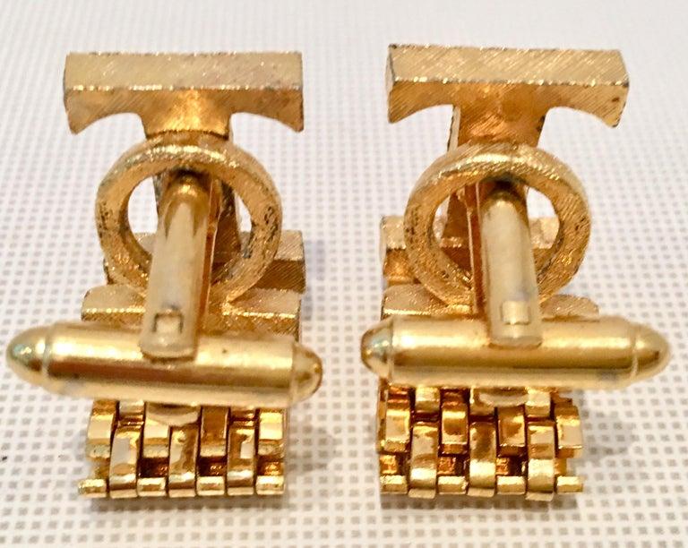 20th Century Gold Metal Mesh