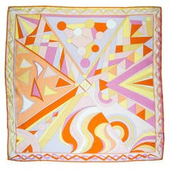 Iconic Mod Pucci  Silk Scarf