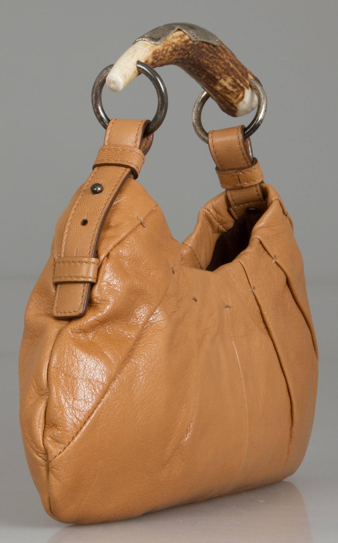 Yves Saint Laurent Rive Gauche Mombassa Horn Handled Bag For Sale ...