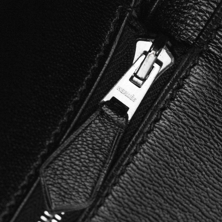 2008 Hermès Black Crocodile Birkin Bag   8