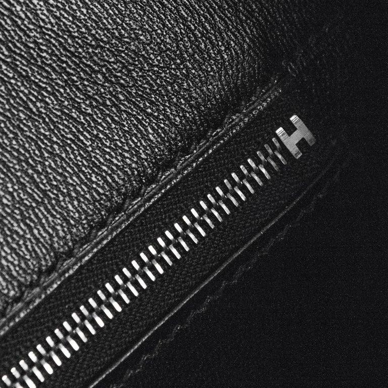 2008 Hermès Black Crocodile Birkin Bag   9
