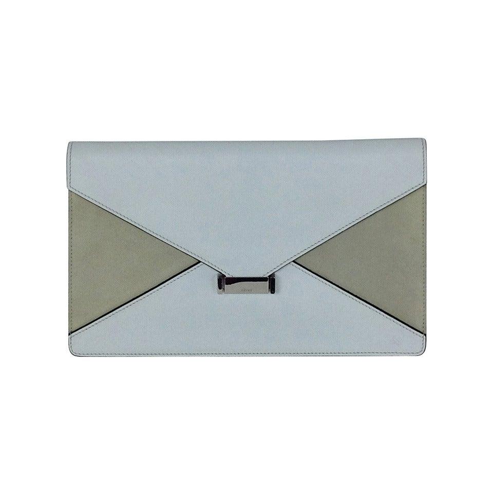 Celine Diamond Clutch Bag New at 1stdibs