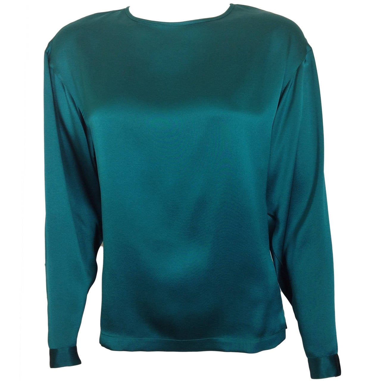 Womens Teal Blouse 50
