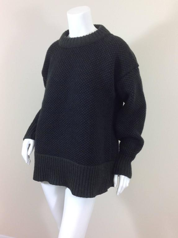 The Row birds eye cashmere blend sweater    size XS 5