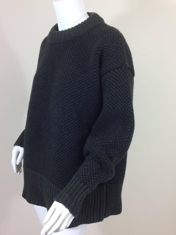 The Row birds eye cashmere blend sweater    size XS 2