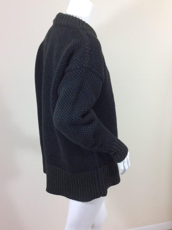 The Row birds eye cashmere blend sweater    size XS 3