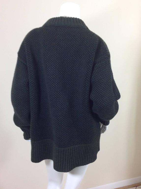 The Row birds eye cashmere blend sweater    size XS 4