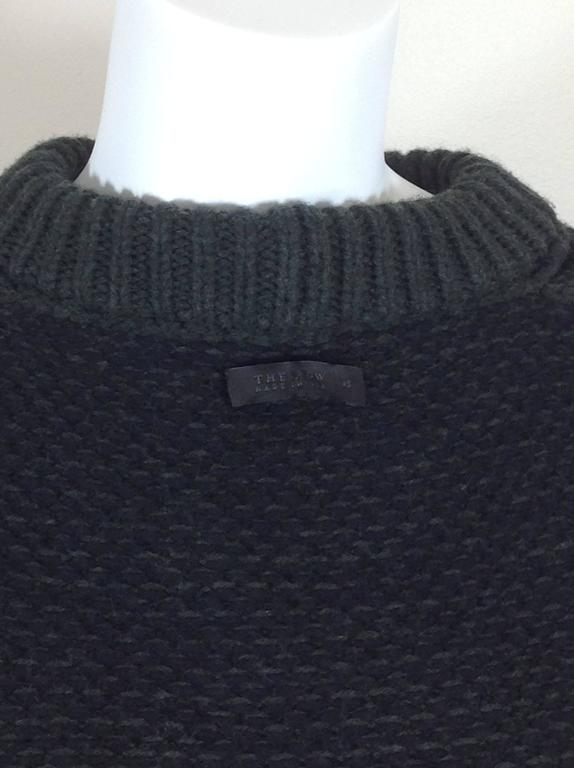The Row birds eye cashmere blend sweater    size XS 6