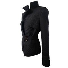 Yves Saint Laurent Rive Gauche Diamond Quilted Jacket