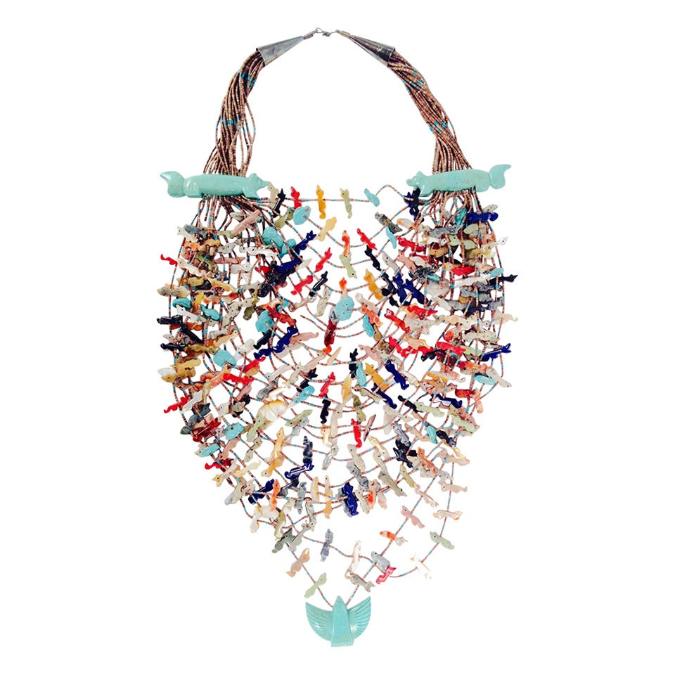Zuni Fetish Necklaces 20