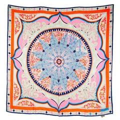 Brand New  Emilio Pucci Spring/Summer 2014 Large Silk Scarf