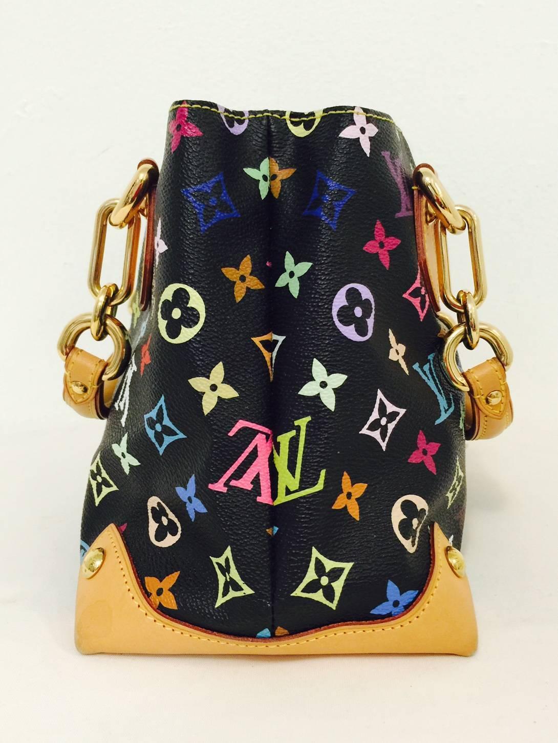 Louis Vuitton Audra Satchel With 7 Bonus Charms - Above Excellent ...
