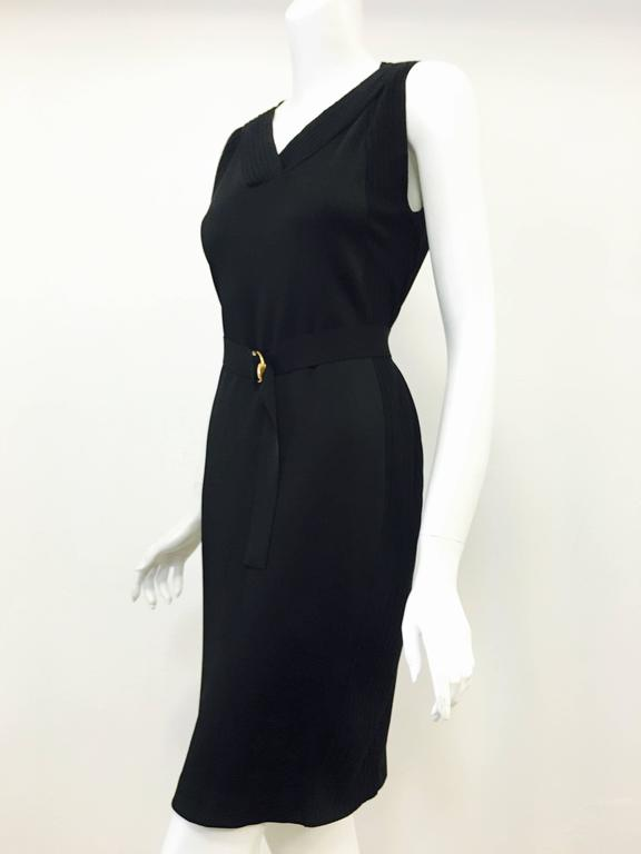 Graceful Gucci Little Black Dress 2