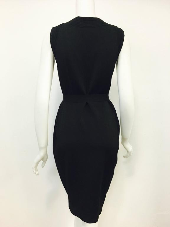 Graceful Gucci Little Black Dress 3