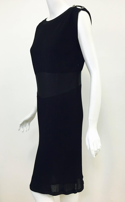 Charming Chanel Little Black Dress For Sale at 1stdibs