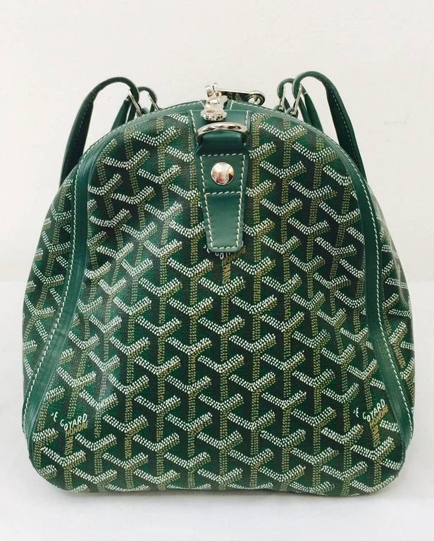 Goyard Green Goyardine Croisiere 50 Duffle Bag at 1stdibs 48375144df