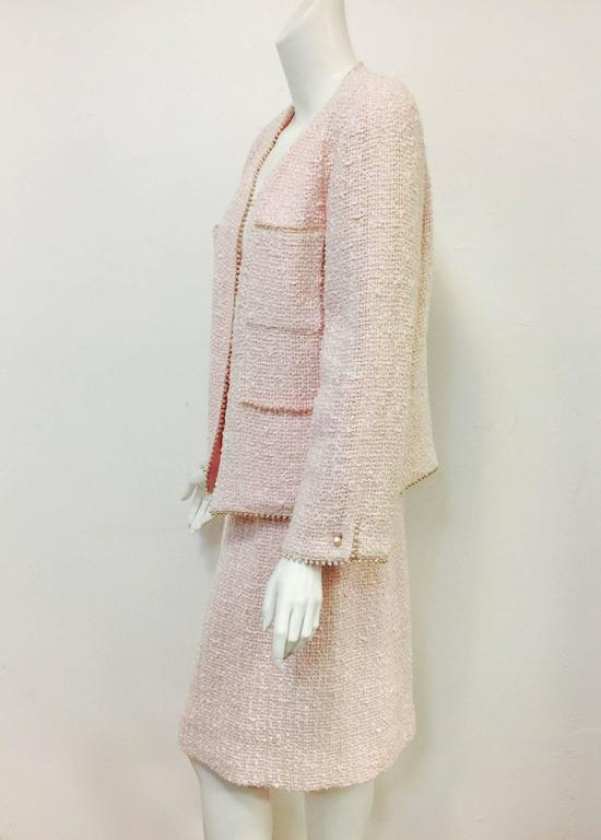 Blush Knee Length Dress