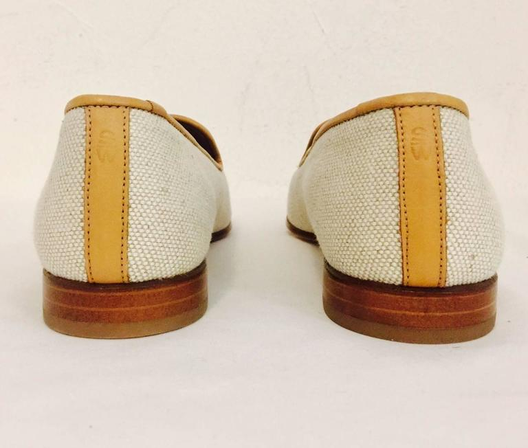 Palm Beach Chic Circa 1990s: Stubbs And Wootton Palm Beach Canvas Slippers With