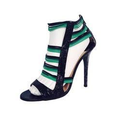 """Jimmy Choo """"Corsica"""" Python High Heel Sandal"""