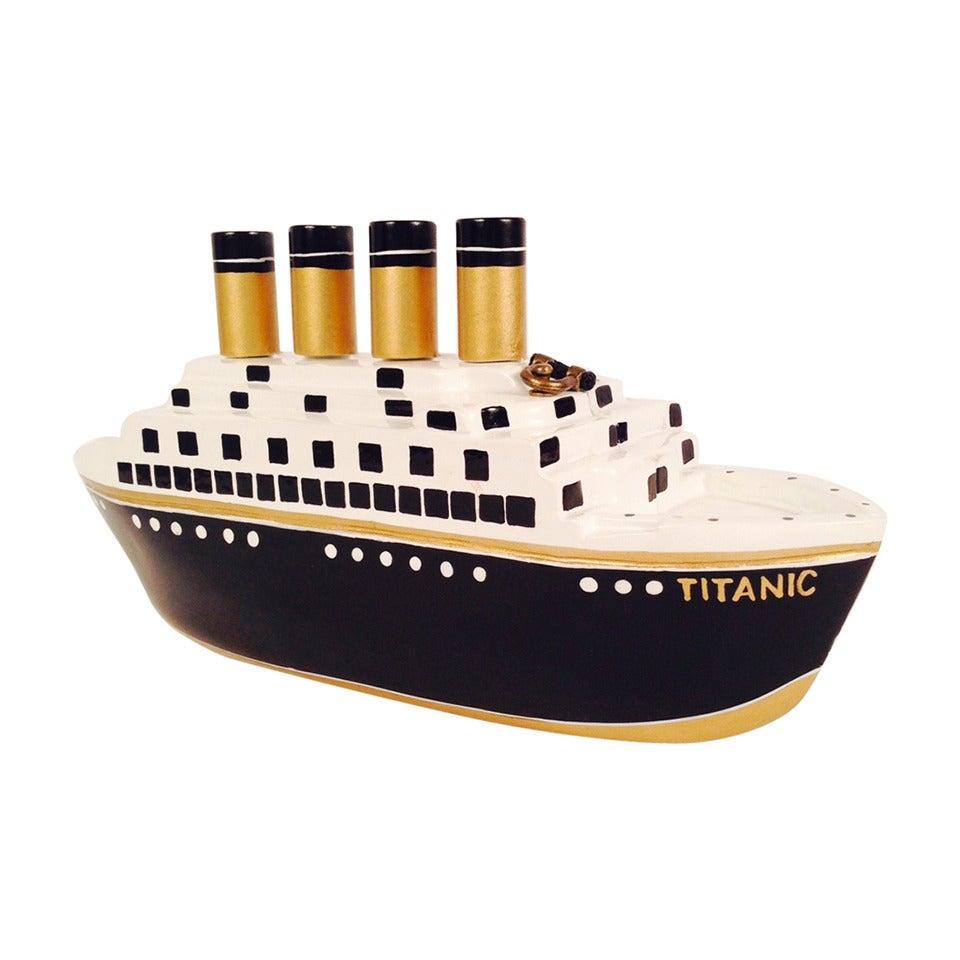 Timmy Woods Handmade Acacia Wood Titanic Bag Numbered 270 ...