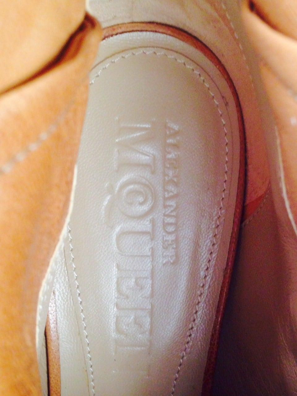 Alexander McQueen Faithful Boot For Sale 2