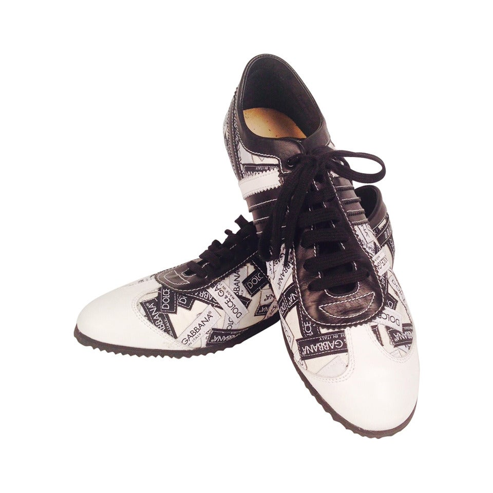 Dolce & Gabbana Logo Sneakers For Sale