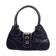 Prada Daino Box Nero Shoulder Handbag