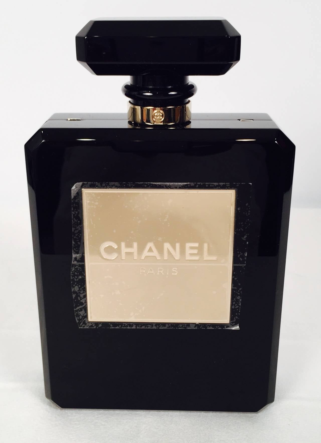 Brand New Limited Edition Chanel Perfume Bottle Evening Bag No. 20247442 2