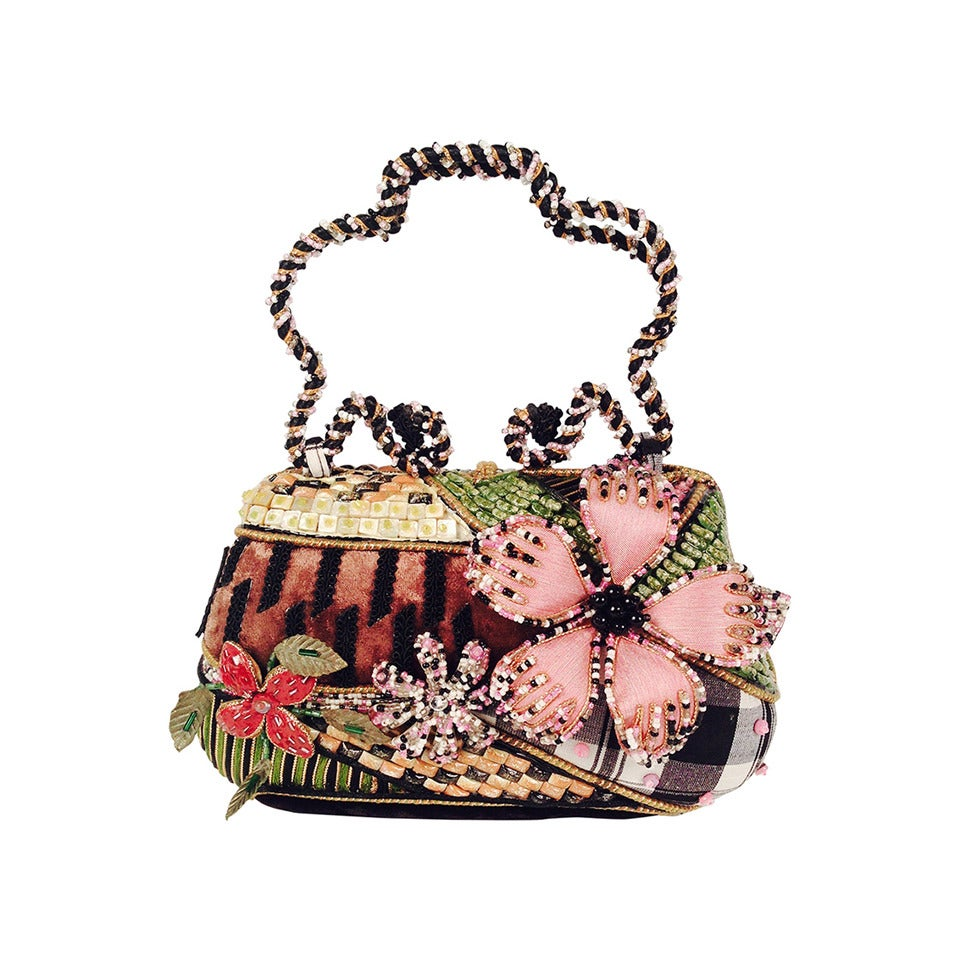Mary Frances Multimedia Handbag At 1stdibs