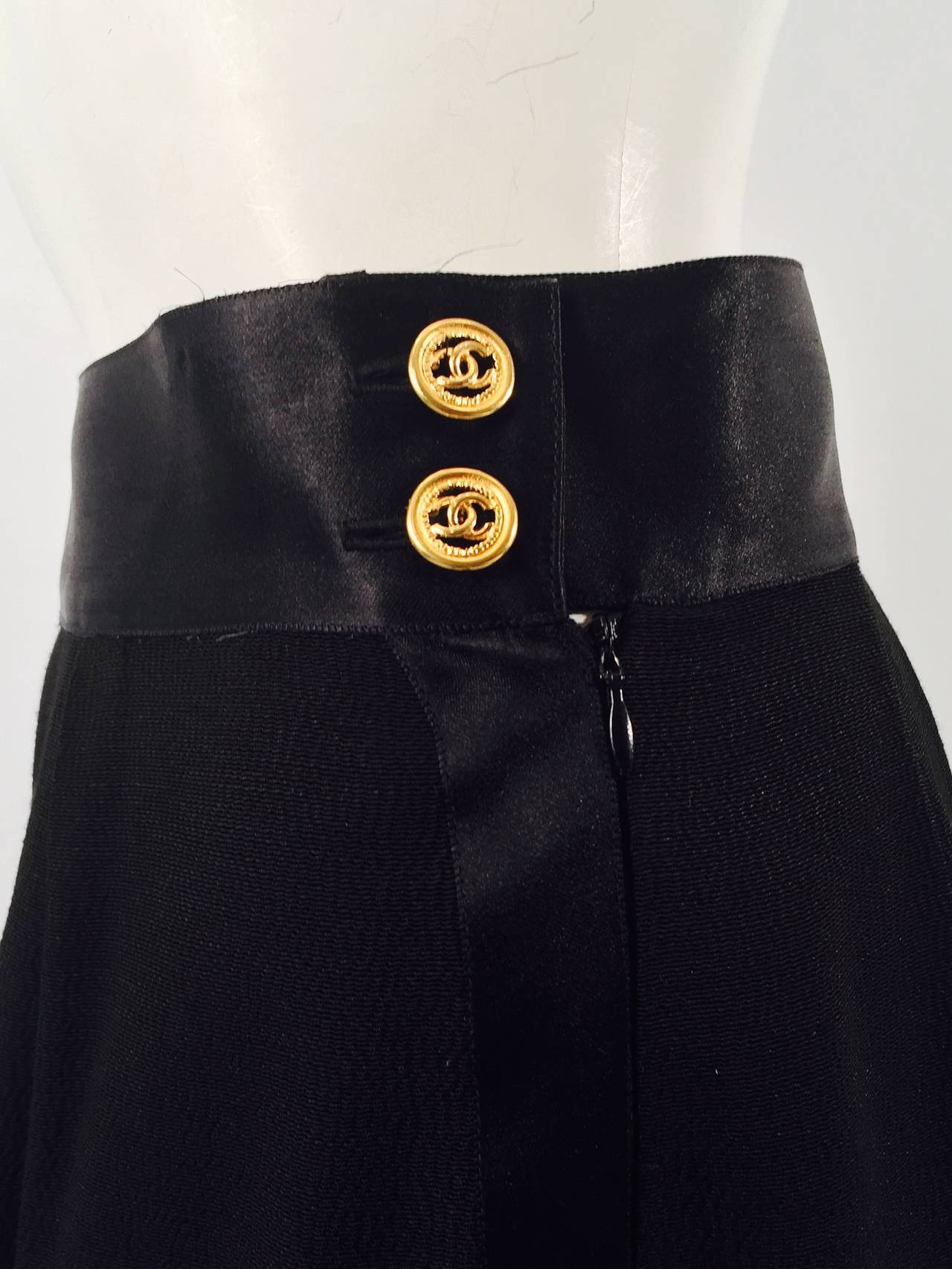 Chanel 1993 Spring Evening Palazzo Pants 4