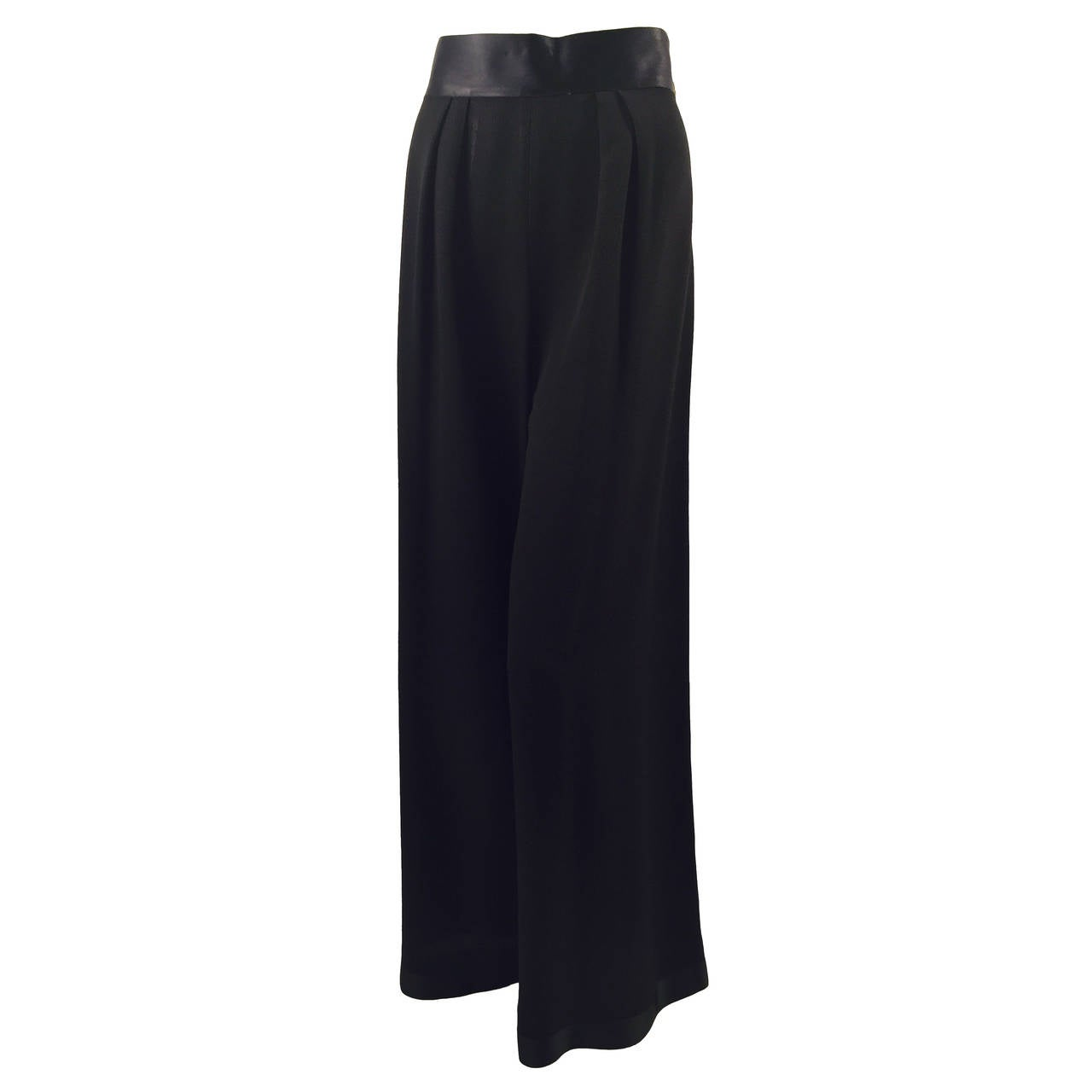 Chanel 1993 Spring Evening Palazzo Pants 1
