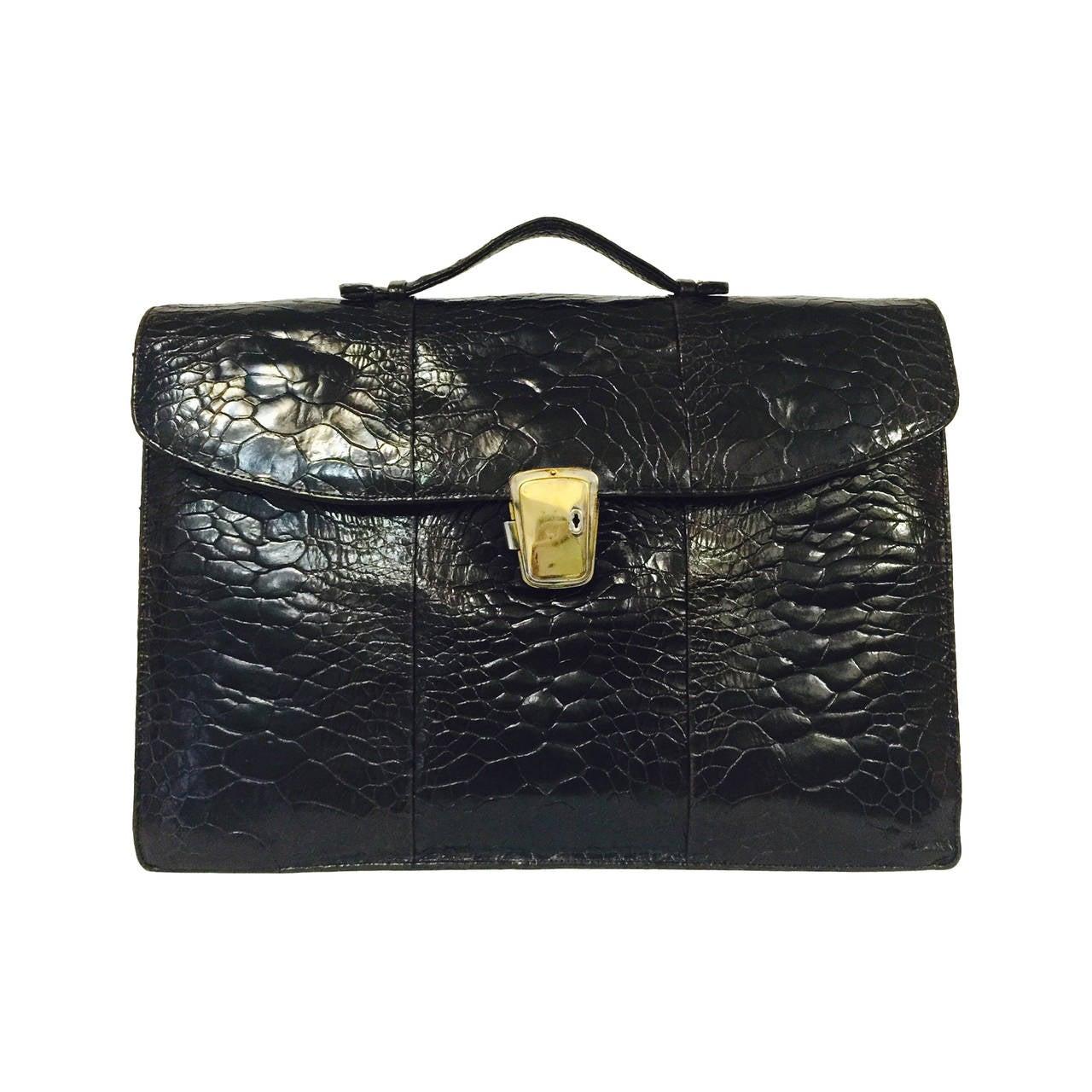 1stdibs Pierre Hardy Black Leather Finges Bag C20hDB
