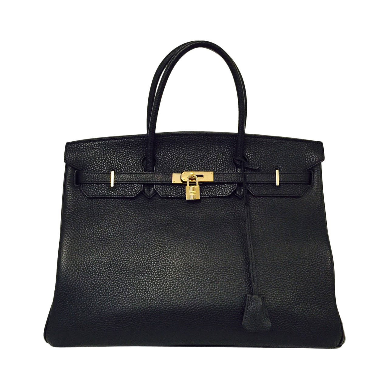 2010 Hermès Black Birkin Togo 40 With Gold Hardware 1