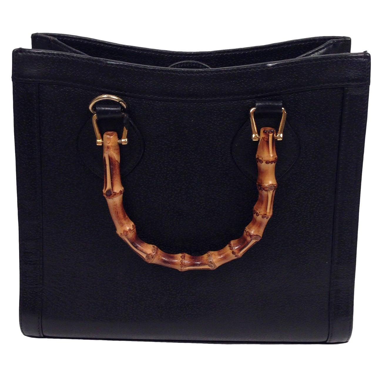 Asian styled bamboo handled purses handbags-6088