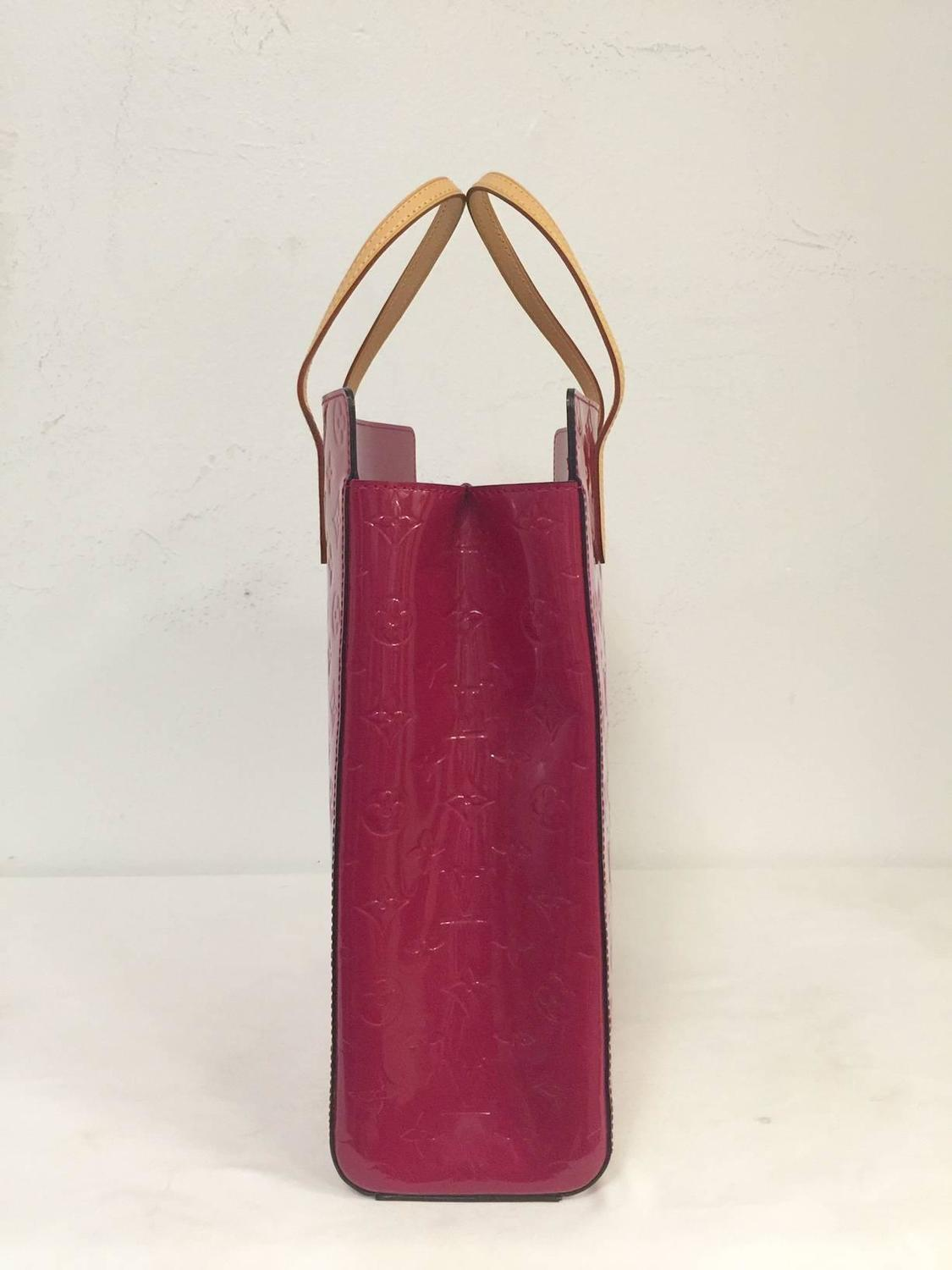 Luscious Louis Vuitton Fushia Vernis Catalina Ns Tote